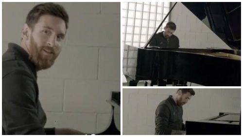 【動画】メッシがCLアンセムをピアノで演奏!こっちのテクニックも一流!