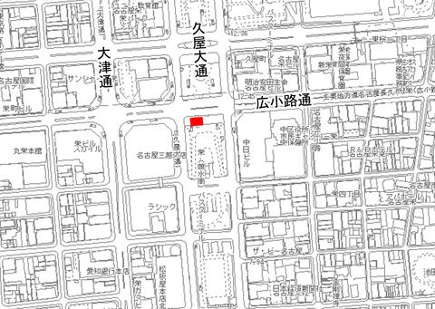 (朝日)名古屋市都市計画基本図(平成27・28年)