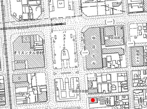 (朝日)名古屋市都市計画基本図(昭和39・43年)1