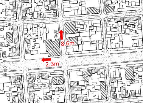 (滝兵)名古屋市都市計画基本図(昭和30・33年)1