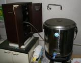 電子エネルギー水の機械