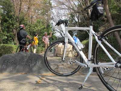 絶好のサイクリング日和!1