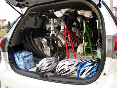檜原湖一周ファミリーサイクリングに挑戦