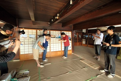 「江名・中之作 港町の風景写真展」の表彰式4