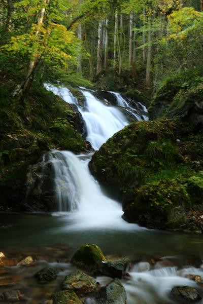袋田の滝に向かう途中の下滝1