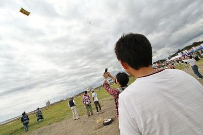 いわき凧揚げ大会 in 四倉海岸4