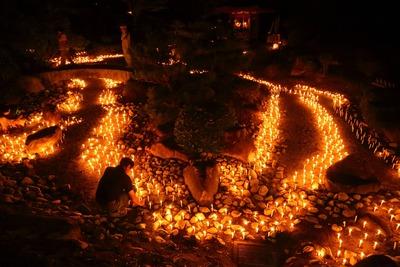 内郷の高野山万灯祭2