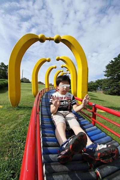 三崎公園の滑り台②