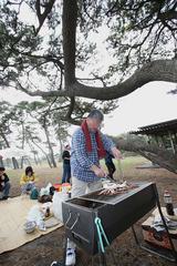 サークルの芋煮会2
