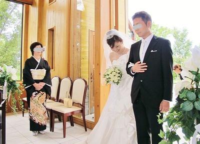 スタッフの結婚式1