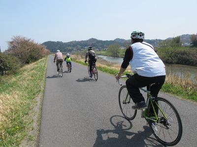 絶好のサイクリング日和!2