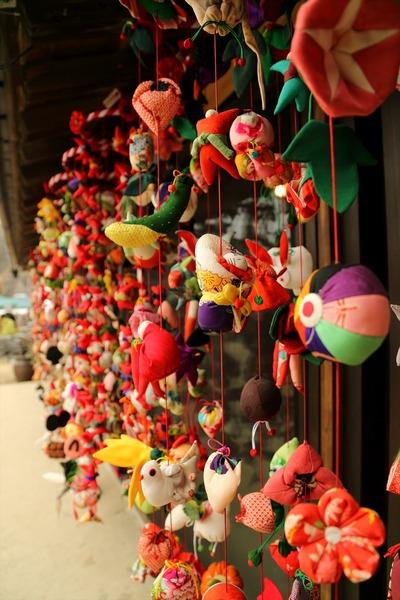中之作・吊し雛祭り(清航館)1