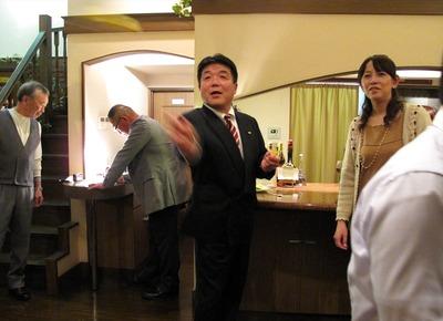 ボジョレーの会 in シェ栗崎5