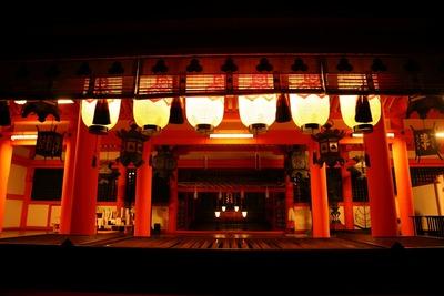 早朝の厳島神社2