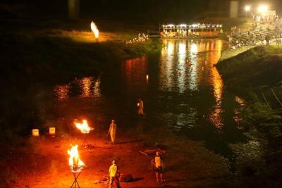 夏井川の灯篭流し4