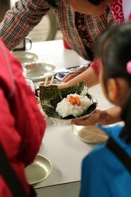 大和田自然農園さんで昼食2
