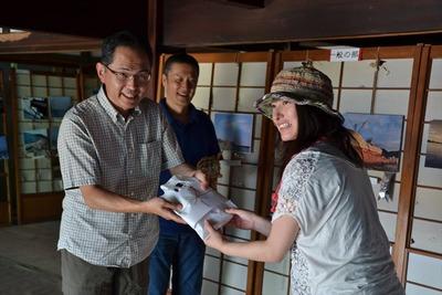 「江名・中之作 港町の風景写真展」の表彰式1