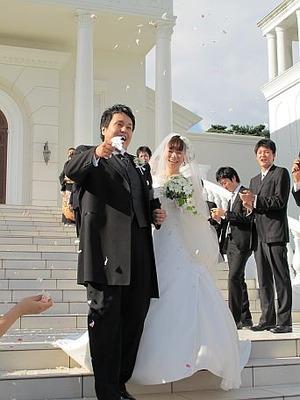 元スタッフの結婚式3