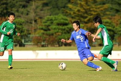 サッカーの試合3