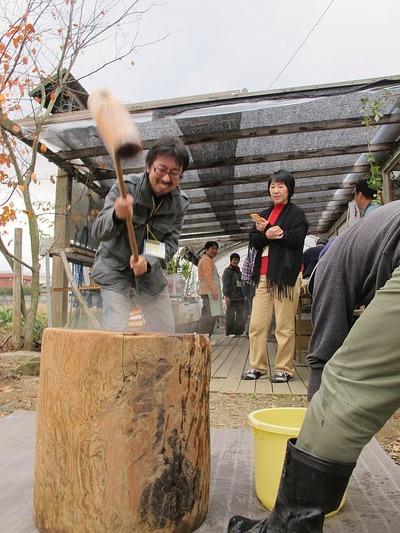 大和田自然農園さんにて芋煮会1