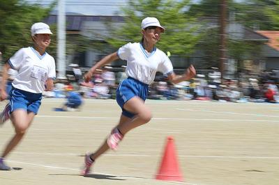 いわき市の小学校の運動会4