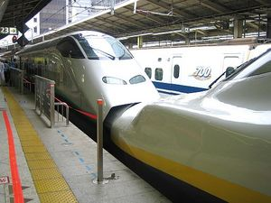 東北新幹線 with 山形新幹線