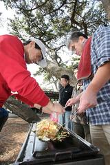 サークルの芋煮会3