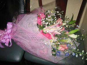 祝福の花束