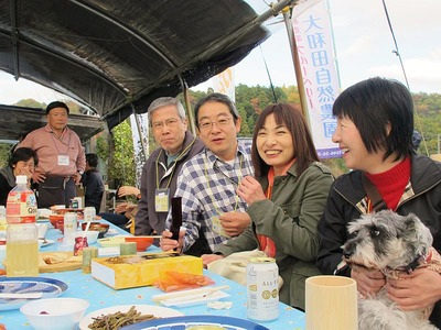 大和田自然農園さんにて芋煮会6