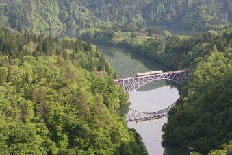 新緑の第一鉄橋(2)
