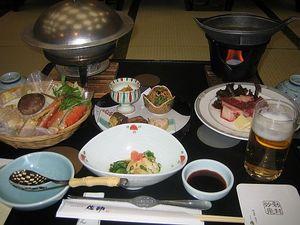 秋保温泉 「佐勘」の食事