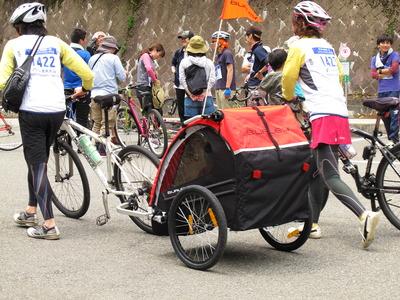 檜原湖一周ファミリーサイクリング・これにもビックリ