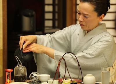 「飛翔庵」で日本茶を楽しむ会4