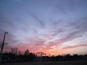 郷ヶ丘の夕景1