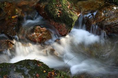袋田の滝に向かう途中の下滝3