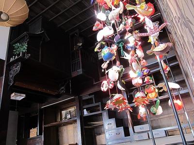 吊し雛の準備 in 清航館2