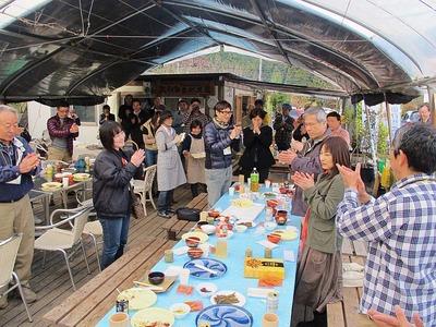 大和田自然農園さんにて芋煮会7