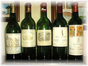 「シェ栗崎」の美味しいワイン