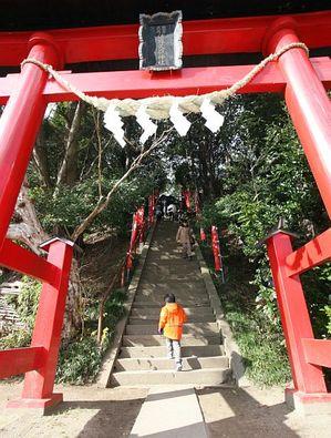 初詣(急階段に挑む)