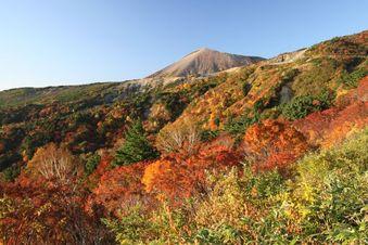 磐梯スカイラインの「天狗の庭」