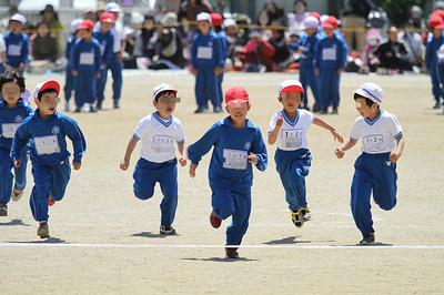 いわき市の小学校の運動会3