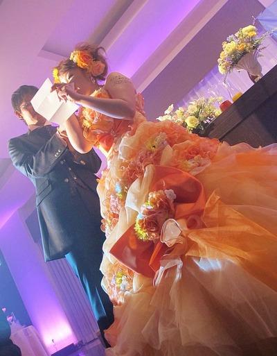 スタッフの結婚式3