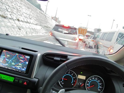 土浦市周辺の6号国道大渋滞(泣)