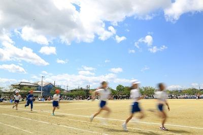 小学校の運動会2