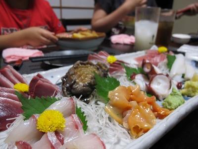 小名浜の「鮭」、家族で美味しいモノ満喫!(笑)2