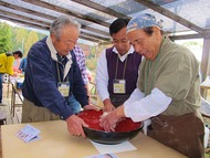 大和田自然農園さんにて芋煮会2