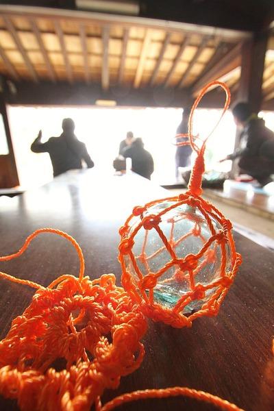 中之作・ガラス浮き球アミアミ教室6