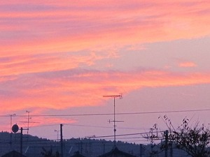 郷ヶ丘の夕景2