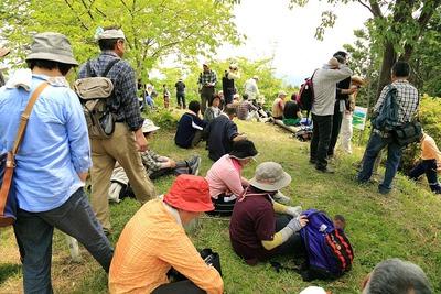 遠野町、滝富士登山6