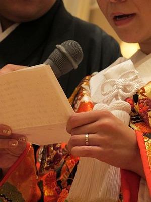 元スタッフの結婚式6